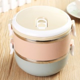 1 4 Tier Stainless Steel Metal Bento Lunch Box Insulated Thermal Food Containers Double Layer Intl Coupon