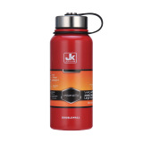 For Sale 1 5L Stainless Steel Vacuum Thermos Outdoor Portable Cup Water Bottle Red