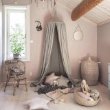 Buy 1 Kids Baby Bedding Round Dome Bed Canopy Netting Bedcover Mosquito Net Curtain Intl Cheap On China