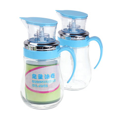 Price Comparisons For 1 Pcs 600Ml High Precision No Drip Oil Bottle Press And Measure Glass Dispenser
