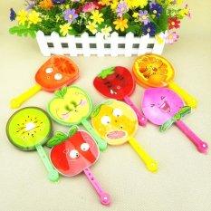 1 Pcs Children Cute Seven Leaves Folding Fan By Qiaosha.
