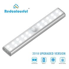 20 Led Wireless Pir Motion Sensor Light Intelligent Portable Infrared Induction Lamp Night Lights For Cabinet Closet Use 4*aaa By Redcolourful.