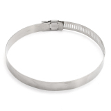 Price 10 One To Sell 316 Stainless Steel Gas Pipe Safety Buckle Hose Clamp Ring Gas Pipe Clip Hose Clamp Hoop Tube Clamp 91 114Mm Intl Oem