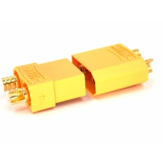 Deals For 10 Pairs Xt90 Male Female Gold Plated Ba Ttery Connector Plug For Rc Aircraft Intl