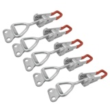 Review 10 Pcs 100Kg 220Lbs Holding Capacity Latch Door Button Toggle Clamp Intl Oem On China