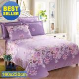 Buy 100 Cotton Bedding Sheet Bedsheet Breathable Durable And Comfortable Patern D Intl Online