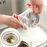 The Cheapest 100 Pcs Kitchen Sink Strainer Home Kitchen Nylon Anti Clogging Filter Intl Online
