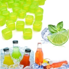Cheapest 100 Pcs Reusable Plastic Ice Cubes Multicolour Cool Cold Drinks Bar Barbecue Bbq Intl Online