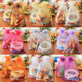 100 Pcs Sheer Organza Wedding Party Favor Decoration Gift Candy Bags Pouches Red 25X35Cm Extra Large Shop
