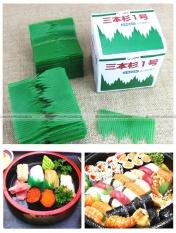 Buy 1000Pcs Japanese Bento Box Divider Sushi Decoration Grass Baran Intl Cheap On China