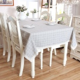 List Price 100 140Cm Modern Plaid Lace Table Cloth Dining Tablecloth For Hotel Restaurant Party Table Covers Intl Oem