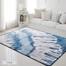 Recent 100 150Cm Bedroom Floor Mat Carpet Soft Bedside Nordic Style Print Anti Slip Tea Table Mats Sofa Rugs Large Carpets Intl