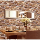List Price 10 53M Pvc Brick Pattern Wallpaper Wall Art Home Decor Tv Wall Eco Friendly Wall Paper For Cafe Restaurant Living Room Intl 2Cool