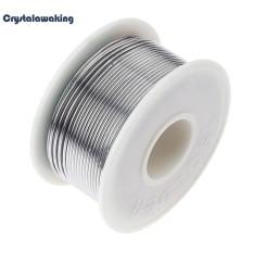 100g 60/40 Rosin Core Tin Solder Wire Soldering Welding Flux Wire Line Reel(Silver)-1.2mm - intl