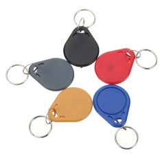 Sale 100Pcs 13 56Mhz Mifare Classic Abs Rfid Smart Ic Key Fobs Tags Token Keychain Intl Not Specified Original