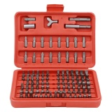 100Pcs Chrome Vanadium Security Screwdriver Tamperproof Torx Hex Bit Set Intl For Sale