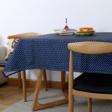 Sales Price Mimosifolia 100X140Cm Waterproof Tablecloth Tv Cabinet Table Cloth Rural Coffee Table Cloth Round Tablecloths Square Table Wave Point Computer Table Decorative Tablecloths Intl