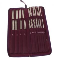 Price 104Pcs Stainless Steel Needles Crochet Hook Weave Set With Case Vakind Online