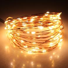10M 100 Led Warm White String Fairy Lights Dc12V Waterproof Copper Wired Lamps Price Comparison