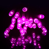 Get Cheap 10M 100 Led Waterproof 5 Functions Battery Operated Led String Lights For Xmas Garland Party Wedding Decoration Fairy Lights Pink
