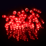 Buy 10M 100 Led Waterproof 5 Functions Battery Operated Led String Lights For Xmas Garland Party Wedding Decoration Fairy Lights Red Cheap On China