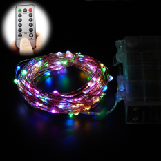10M 100 Leds 33Ft 8 Modes Waterproof Warm White Battery Operated Led String Lights Fairy Lights Christmas Lights With Remote Control Multicolor Best Buy