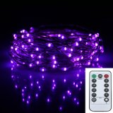 10M 100Leds Battery Operated Remote Control Led Fairy String Light 8 Lighting Modes Indoor Outdoor Decor Lamp Intl On China
