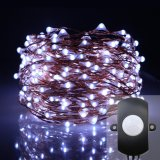 Where Can I Buy 10M 100Leds Copper Wire Led Fairy Sensor String Light Pir Sensor Switch For Xmas Wedding Party Decor Intl