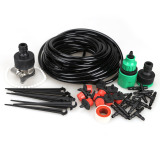 Brand New 10M Diy Micro Drip Irrigation System Plant Self Watering Garden Hose Kits