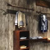 Sale 10M Roll Vintage Beige Grey Wood Panel Plank Wallpaper Vinyl Wall Bedroom Decor Intl Oem Original