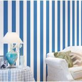 Compare 10M Stripe Non Woven Wallpaper Roll Home Decor Wall Paper Tv Backgroud Bedroom Blue