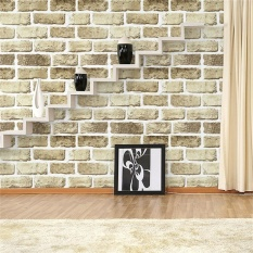 10M Waterproof Lifelike Brick Style Contact Paper Decorative Self Adhesive Peel Stick Wall Paper Decor Specification 5075 Intl Free Shipping