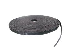Best Reviews Of 10Meter Black Rubber Gt2 6Mm Open Timing Belt Width 6Mm Gt2 Belt Gt2 Pulley Module Driver Board Electric Intl