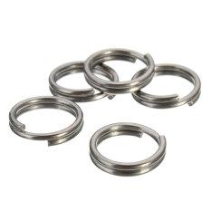 10mm EDC Gear Titanium Ti Key Chain Key Ring Split Ring 4-12 5-piece Set