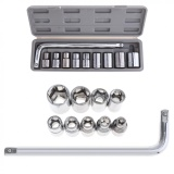 Discount 10Pcs Automobile Motorcycle Repairing Tool Case Socket Wrench Set With Carbon Steel Sleeve Screwdriver Intl Oem