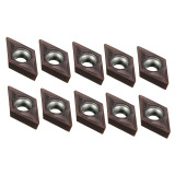 Price 10Pcs Dcmt0702 Em Ybc205 Carbide Inserts For Lathe Carbide Cutter Turning Tool Oem Online