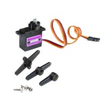 Deals For 10Pcs Mg90S Metal Geared Micro Tower Pro Servo For Toy Boat Car Airplane Helicopter Intl