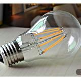 10Pcs Pack E27 6W A60 Edison Retro Filament Cob Led 6500K Lamp Cool White Vintage Light Bulb White Coupon Code