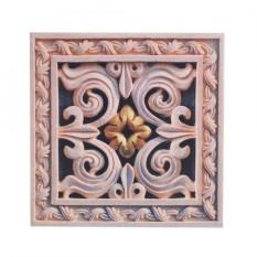 10Pcs Self Adhesive PVC Tile Floor Wall Stickers 3D Decal Home Decor 12CM*12CM #