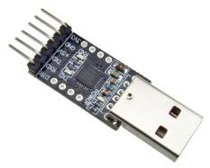 Coupon 10Pcs Usb 2 To Uart Ttl 6Pin Connector Module Serial Converter Cp2102 Intl