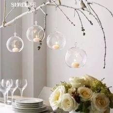 10Pcs Lot 80Mm Hanging Tealight Holder Glass Globes Terrarium Wedding Candle Holder Candlestick Vase Home Hotel Bar Decoration Intl Reviews