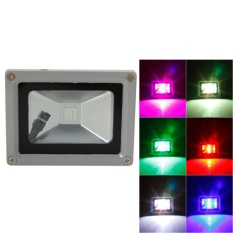 Sale 10W Ip65 Waterproof Rgb Aluminium Alloy Led Flood Light With Remote Control Memory Ac 90 260V Gray Intl Online Singapore