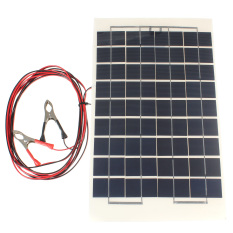Cheap 10W Watt 12V Cell Solar Panel Module Battery Charger Rv Boat Camping 4M Cable Export