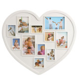 Discounted 11 Pictures Heart Shape Multi Collage Photo Frame Wall Hanging Home Decoration Intl