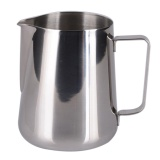 Promo 12 Oz Stainless Steel Pull Flower Cup Milk Pot Of Milk Cup Intl