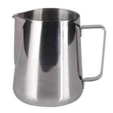 Cheap 12 Oz Stainless Steel Pull Flower Cup Milk Pot Of Milk Cup Intl