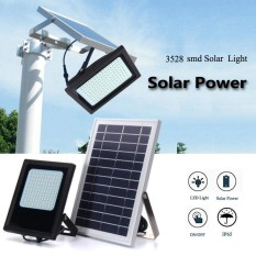 120 LED Solar Power Flood Light Sensor Outdoor Garden Lamp Waterproof Warm White - intl