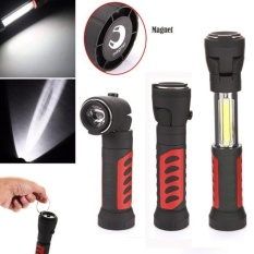 Lowest Price 1200Lm Cob Led Magnetic End Black Work Light Inspection Flashlight Lamp Torch Intl