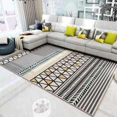 120x160cm Nordic Style Large Living Room Carpets Rugs Rectangle Floor Mat Non-slip Tea Table Mats Bedroom Carpet Soft Pad - intl