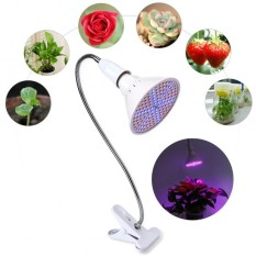 Recent 126 Led Grow Light Lamp Bulbs Flexible Desk Clip Holder Indoor Plants Flowers Us Plug Intl